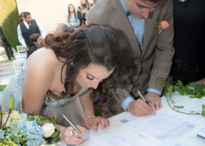fotografías de boda civil
