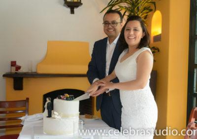 fotografo para boda civil pastel